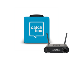 Lite - microfoon om te werpen incl. zendersysteem - kleur blauw