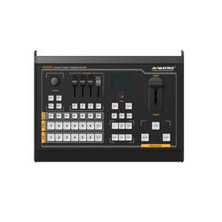 VS0605U videomixer 6-kanaals met SDI en HDMI, AUX-bus, keying en streaming via USB